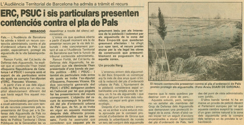Diari de Girona, 17-11-1987