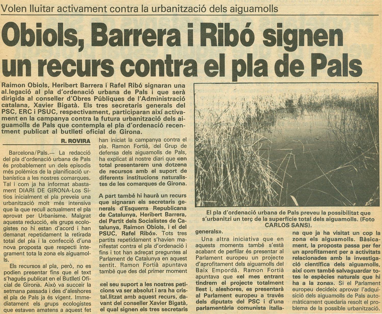 Diari de Girona, 23-10-1986