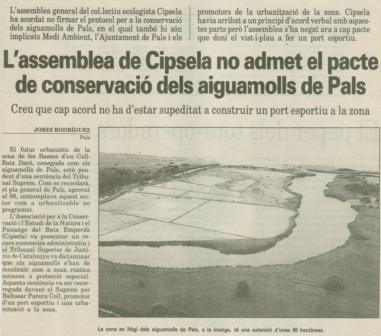 Diari de Girona, 4-11-1993