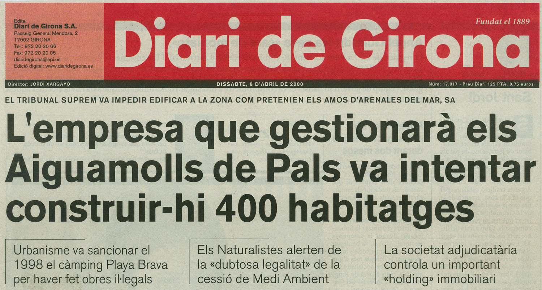 Diari de Girona, 8-4-2000