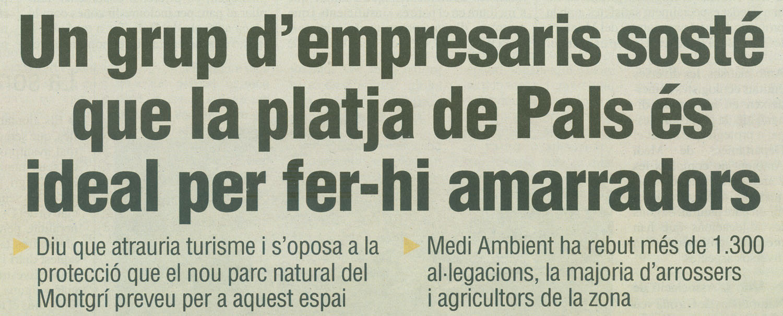 El Punt, 2-10-2008