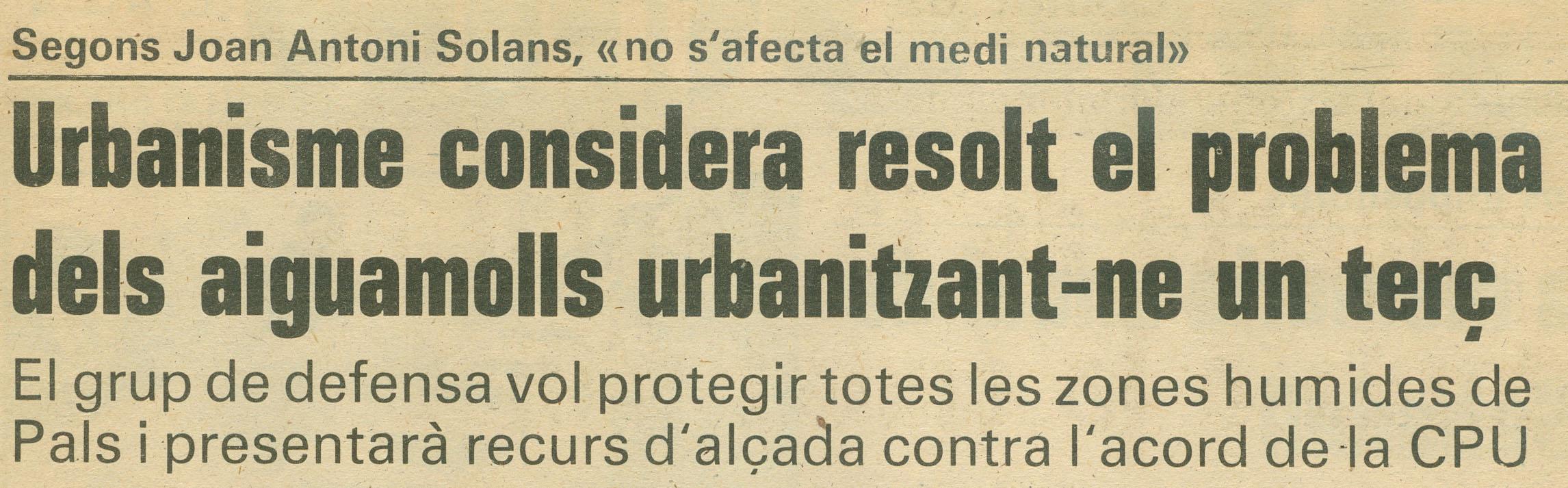 Los Sitios, 15-3-1986