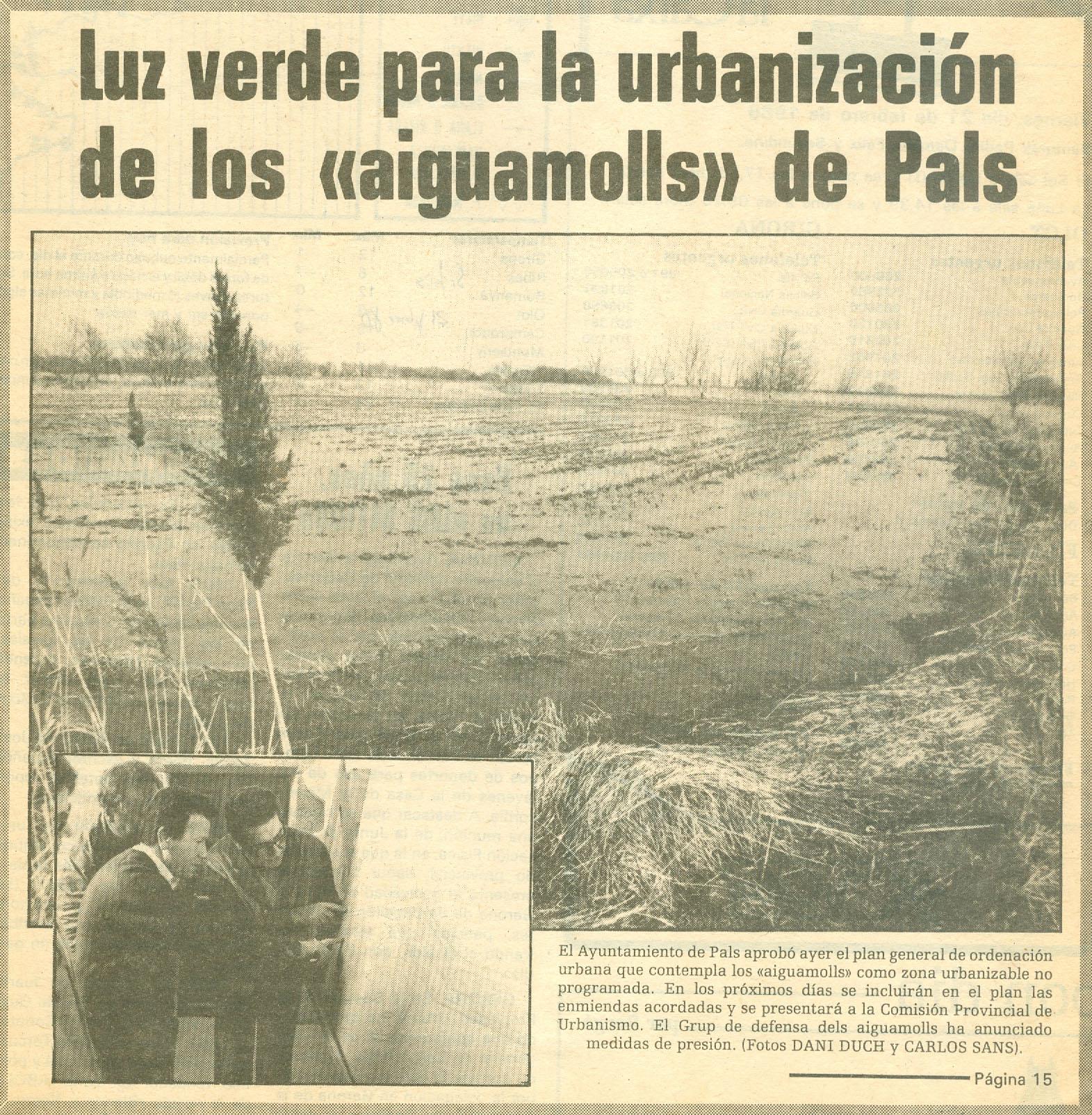 Los Sitios, 21-2-1986