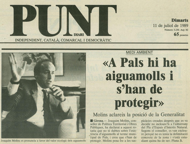 Punt-Diari, 11-7-1989
