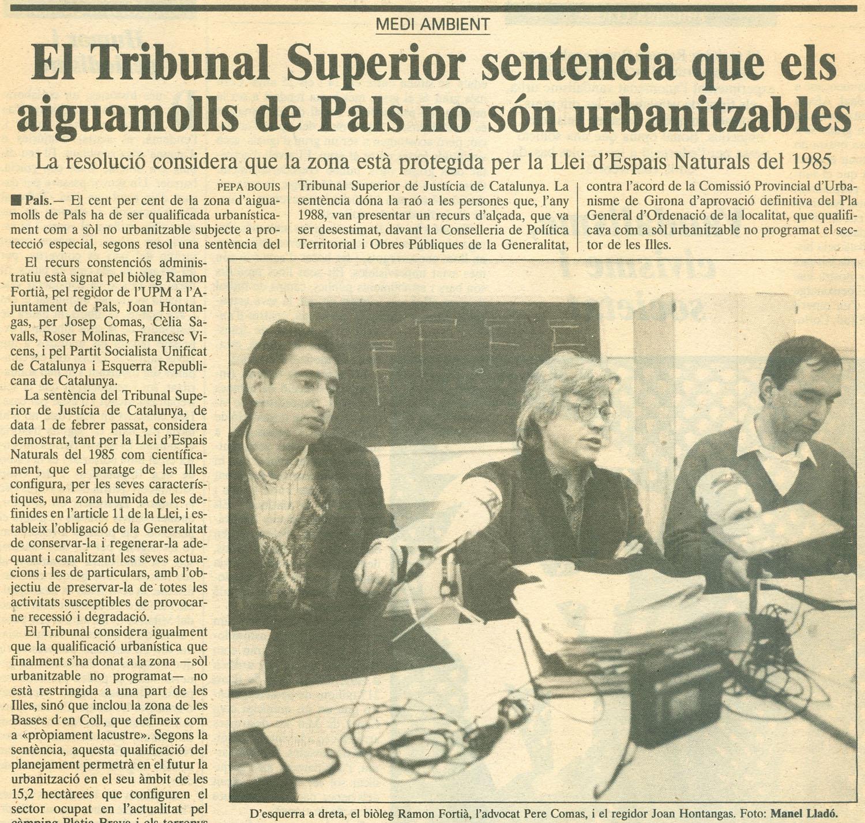 Punt-Diari, 3-3-1990